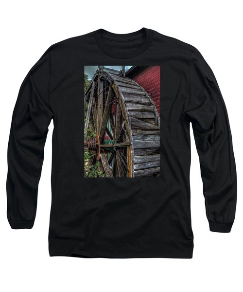 Red Mill Wheel 2007 Long Sleeve T-Shirt by Trey Foerster
