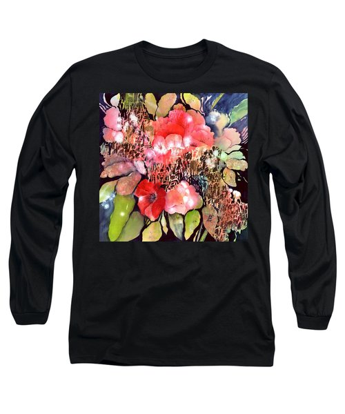 Red Poppy Flowers Long Sleeve T-Shirt