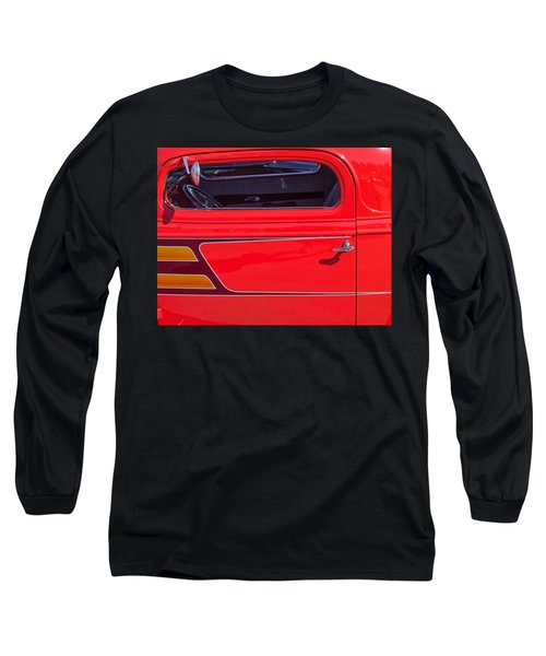 Red Racer Long Sleeve T-Shirt