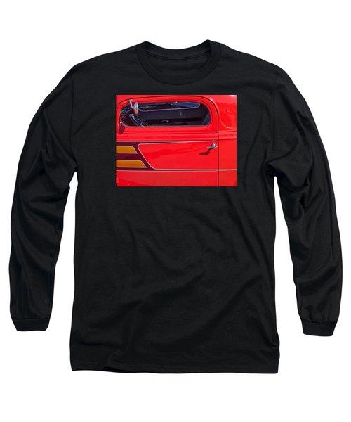 Red Racer Long Sleeve T-Shirt