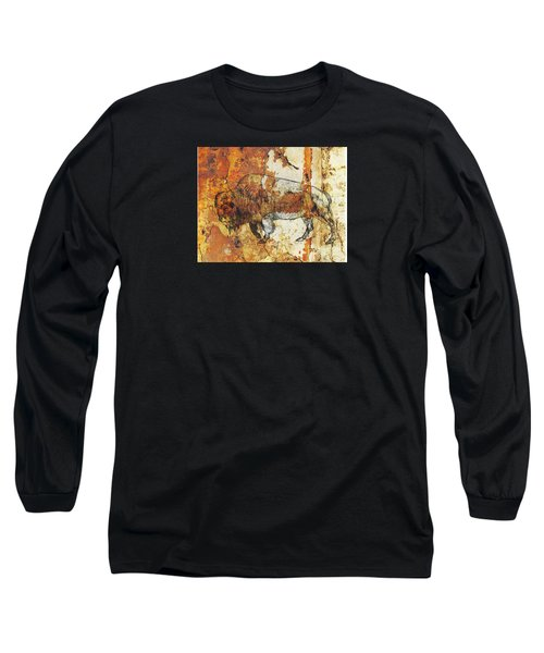 Red Rock Bison Long Sleeve T-Shirt