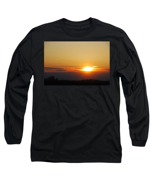 Red Sky Sunset Long Sleeve T-Shirt