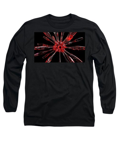 Red Spires Of Glass Long Sleeve T-Shirt