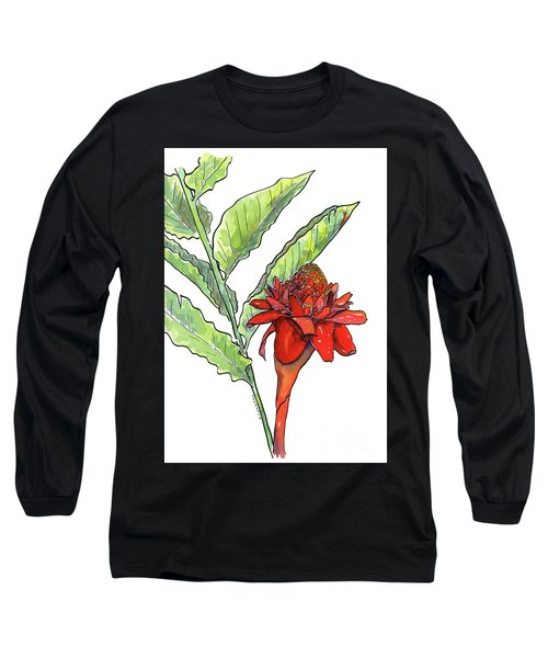 Red Torch Ginger Long Sleeve T-Shirt