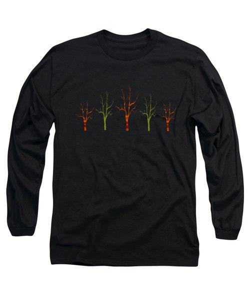 Red Tree Green Tree Long Sleeve T-Shirt