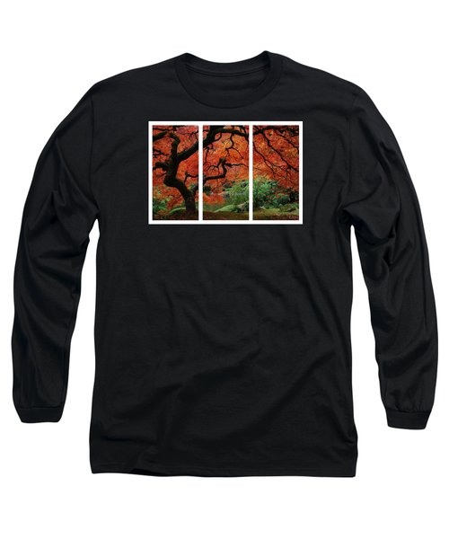 Red Tree Long Sleeve T-Shirt by James Roemmling