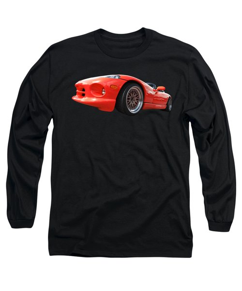 Red Viper Rt10 Long Sleeve T-Shirt by Gill Billington
