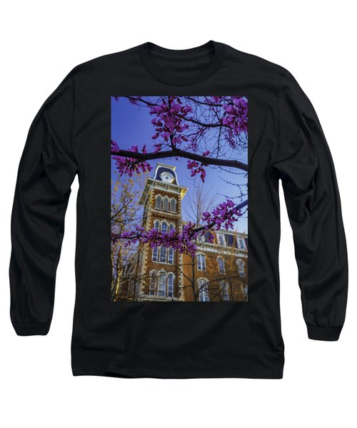 Redbud At Old Main Long Sleeve T-Shirt