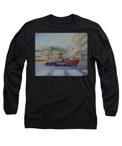 Redbull Racing Car Monaco  Long Sleeve T-Shirt
