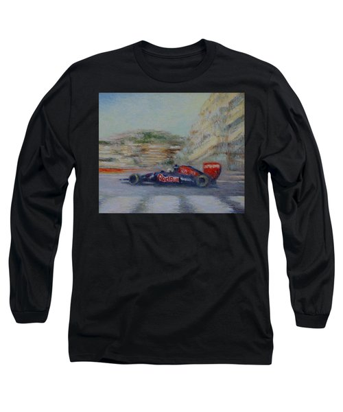 Redbull Racing Car Monaco  Long Sleeve T-Shirt