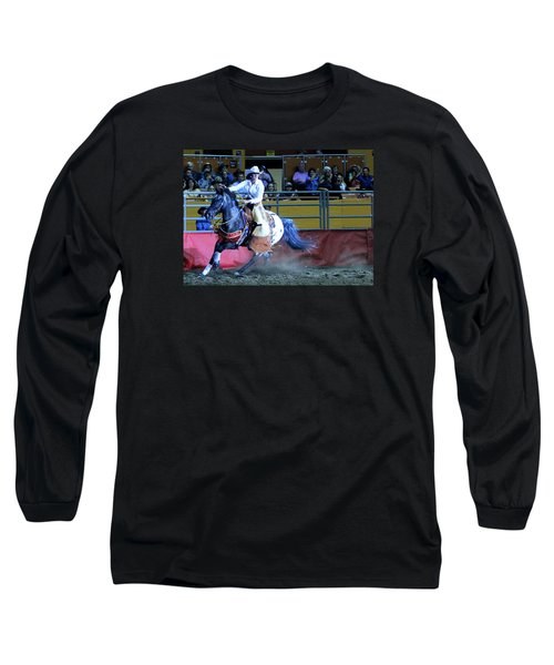 Rodeo Queen At The Grand National Rodeo Long Sleeve T-Shirt