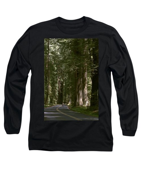 Redwood Highway Long Sleeve T-Shirt by Wes and Dotty Weber