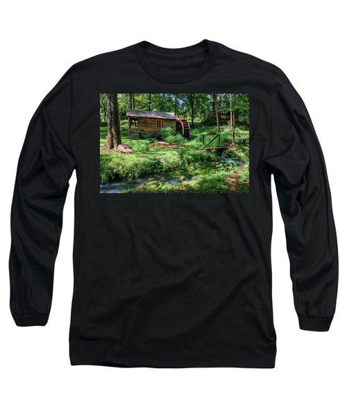 Reed's Mill Long Sleeve T-Shirt by John Gilbert