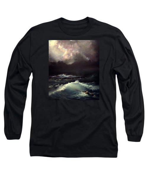 Reef Long Sleeve T-Shirt by Mikhail Savchenko