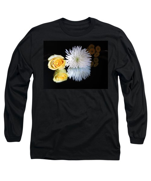 reflected Flowers Long Sleeve T-Shirt