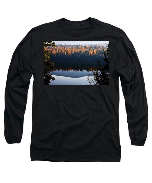 Reflecting On Autumn Long Sleeve T-Shirt