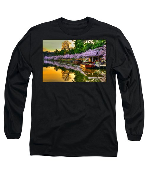 Reflection In Gold Long Sleeve T-Shirt