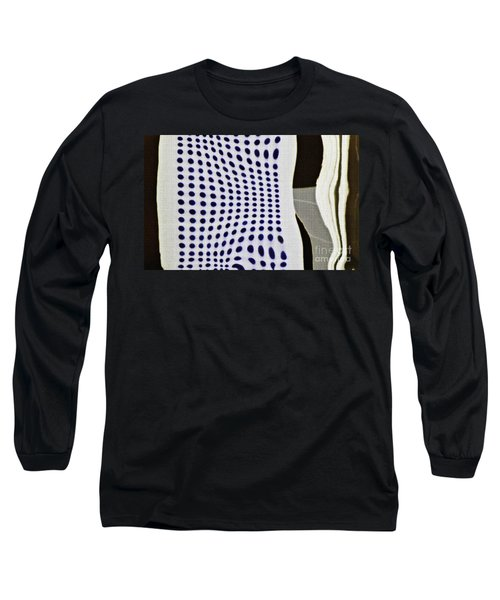 Long Sleeve T-Shirt featuring the photograph Reflection On 42nd Street 2 Negative by Sarah Loft