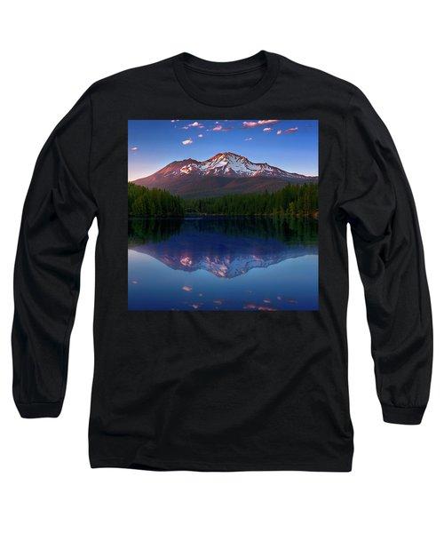Reflection On California's Lake Siskiyou Long Sleeve T-Shirt