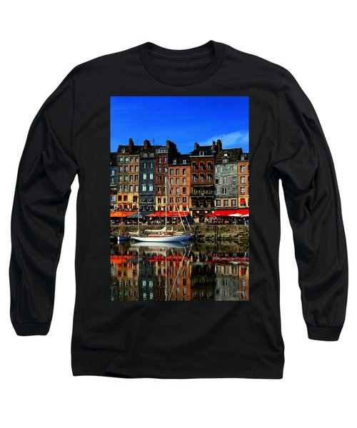 Reflections Honfleur France Long Sleeve T-Shirt