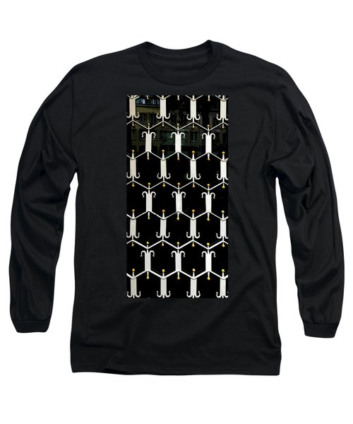 Reflections In A Doorway Long Sleeve T-Shirt