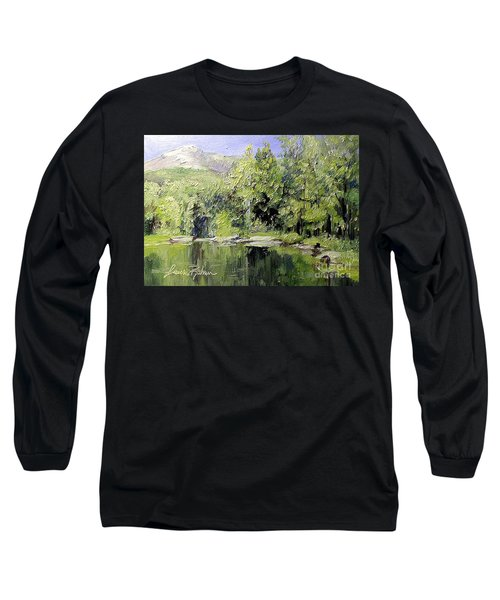 Reflections Long Sleeve T-Shirt by Laurie Rohner