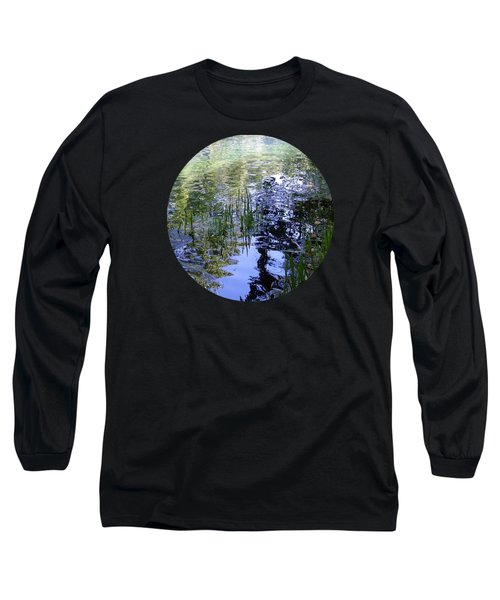 Reflections  Long Sleeve T-Shirt by Mary Wolf