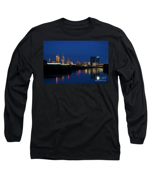 Long Sleeve T-Shirt featuring the photograph Reflections Of Indy - D009911 by Daniel Dempster