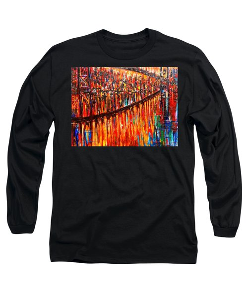 Reflections Of My Childhood Long Sleeve T-Shirt by Helen Kagan