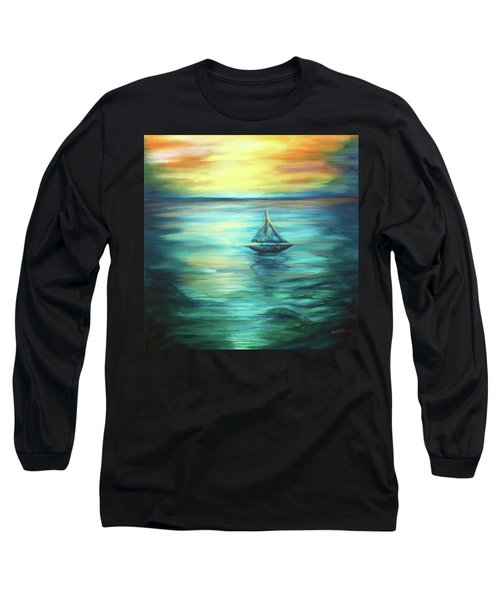 Reflections Of Peace Long Sleeve T-Shirt