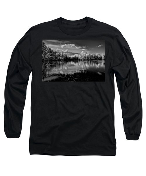 Reflections Of Tamaracks Long Sleeve T-Shirt