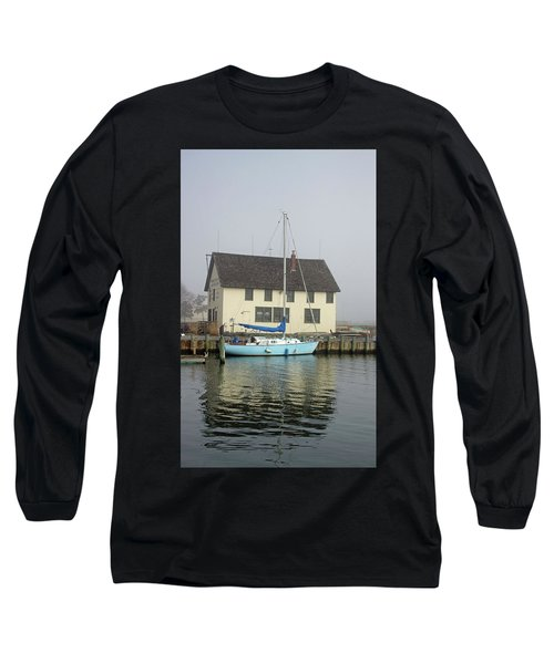Reflections Of The Boat Builder Long Sleeve T-Shirt