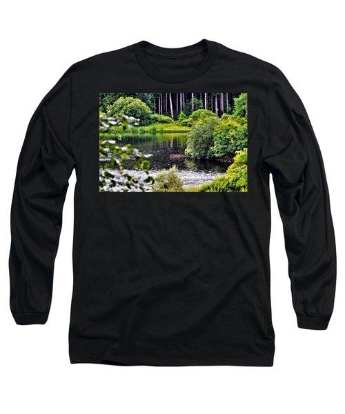Reflections On Kielder Water Long Sleeve T-Shirt