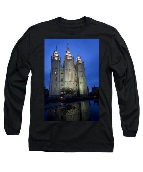 Reflective Temple Long Sleeve T-Shirt