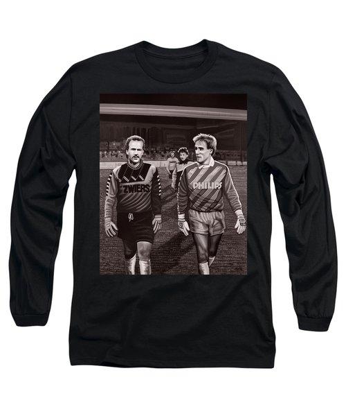 Reinier En Hans Long Sleeve T-Shirt by Paul Meijering