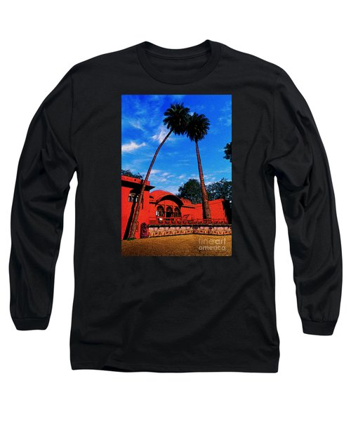 Relax With Nature Long Sleeve T-Shirt by Manjot Singh Sachdeva