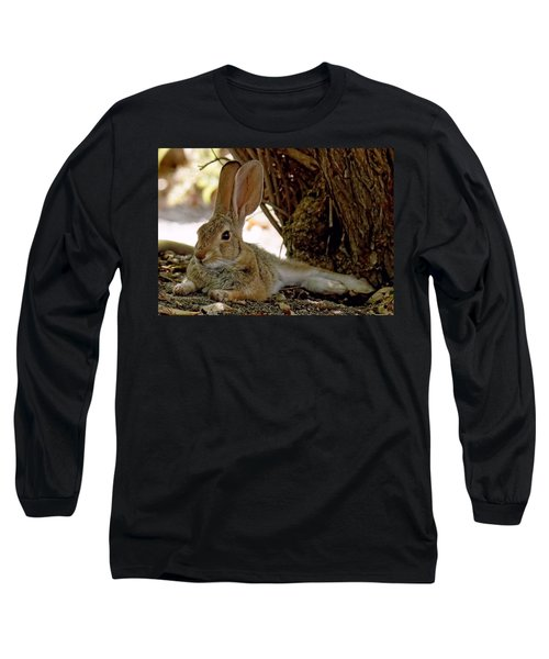 Relaxing Cottontail Long Sleeve T-Shirt