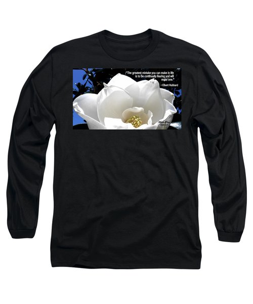 Relief 2, With Quote.  Long Sleeve T-Shirt