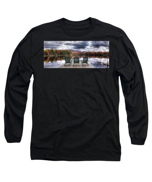 Relishing Autumn Long Sleeve T-Shirt by David Patterson