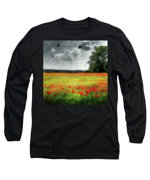 Remember #rememberanceday #remember Long Sleeve T-Shirt by John Edwards