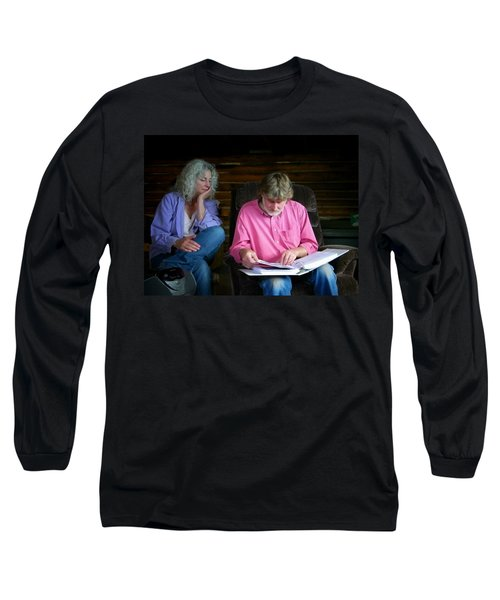 Long Sleeve T-Shirt featuring the photograph Reminiscing by Lenore Senior