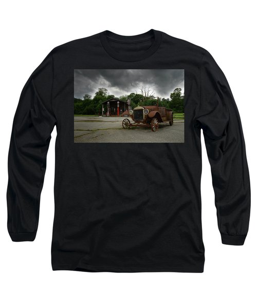 Long Sleeve T-Shirt featuring the photograph Remnants Of Yesterday by Renee Hardison