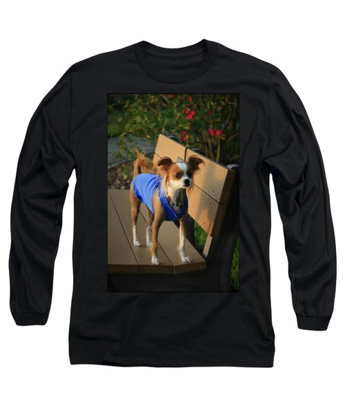 Ren The Chinese Crested Mix Long Sleeve T-Shirt