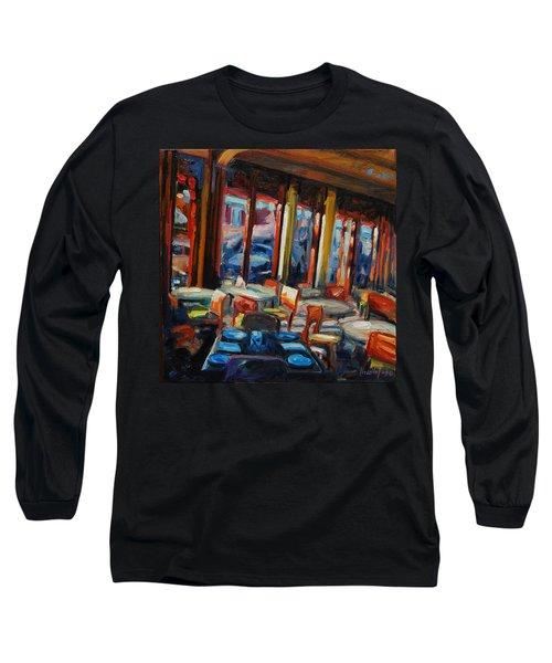 Restaurant On Columbus Long Sleeve T-Shirt