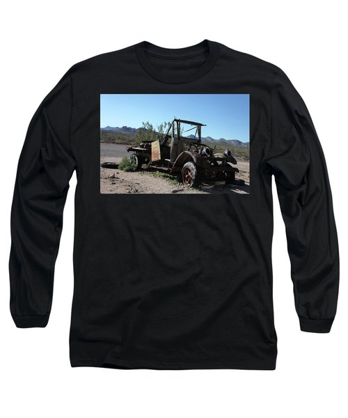 Resting And Rusting Long Sleeve T-Shirt
