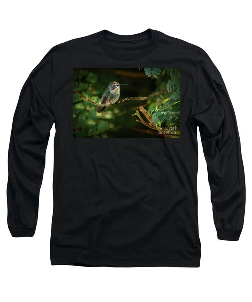 Long Sleeve T-Shirt featuring the photograph Resting Anna by Robert Bales
