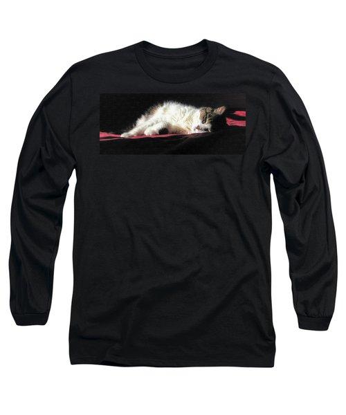 Resting Cat Long Sleeve T-Shirt