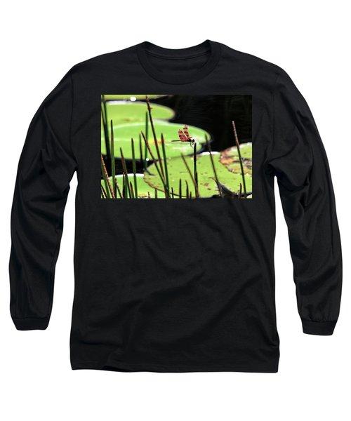 Resting Dragonfly Long Sleeve T-Shirt