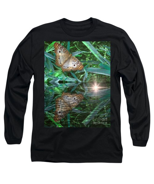 Resting On River's Edge Long Sleeve T-Shirt