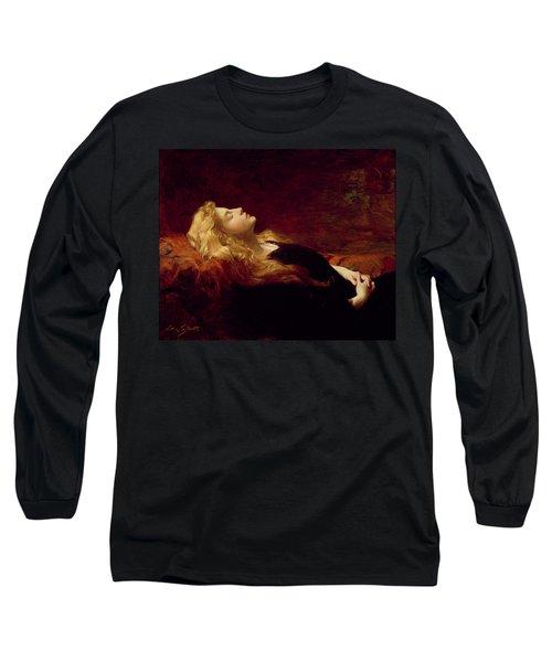 Resting Long Sleeve T-Shirt